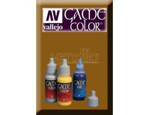 VALLEJO GAME COLOR BROWN INK 72092 COLORI