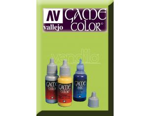 VALLEJO GAME COLOR LIVERY GREEN 72033 COLORI