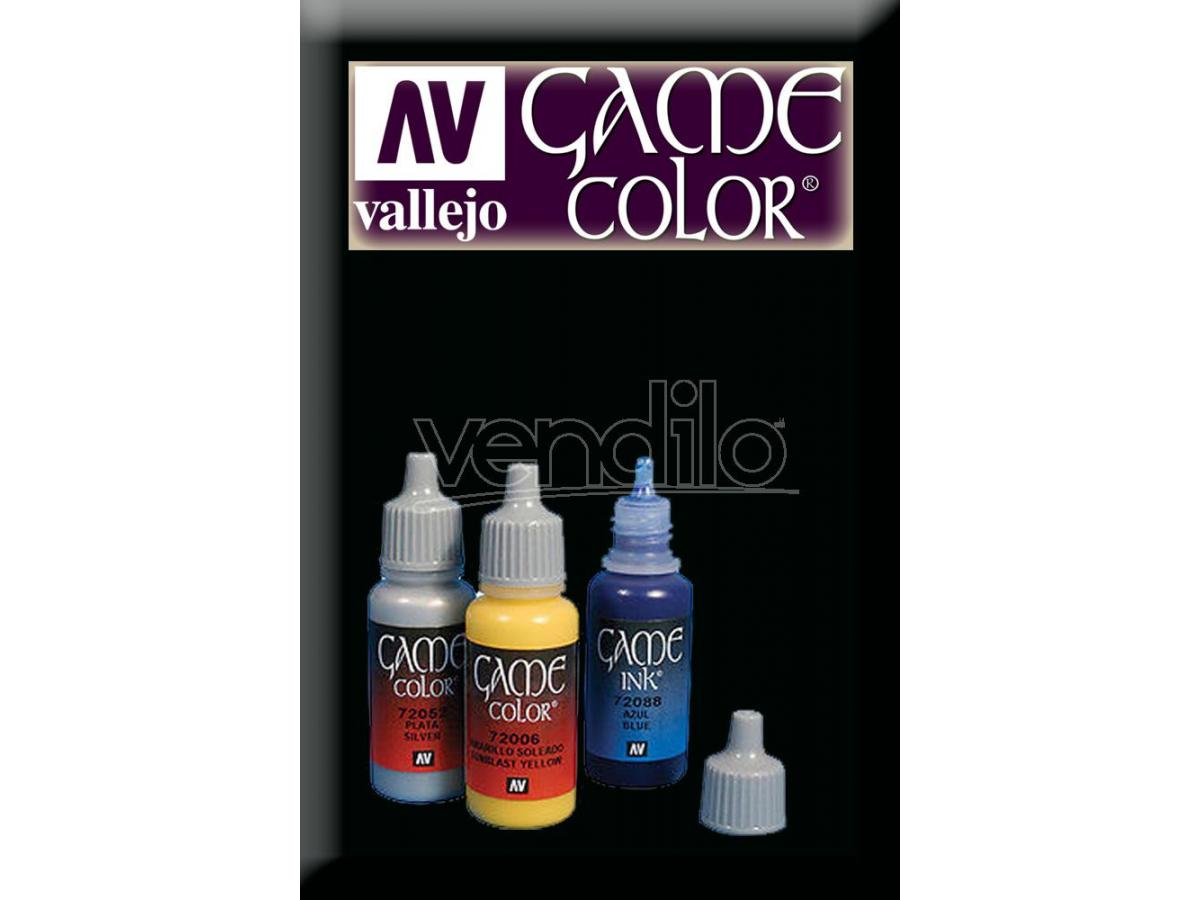 VALLEJO GAME COLOR BLACK 72051 COLORI