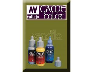 VALLEJO GAME COLOR CAMOUFLAGE GREEN 72031 COLORI
