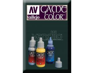 VALLEJO GAME COLOR HEAVY CHARCOAL EXOPAQ 72155 COLORI