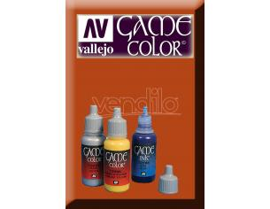 VALLEJO GAME COLOR PARASITE BROWN 72042 COLORI