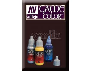 VALLEJO GAME COLOR SMOKEY INK 72068 COLORI