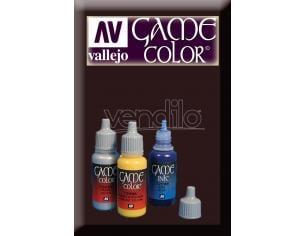 VALLEJO GAME COLOR SMOKEY INK 72068 COLORI