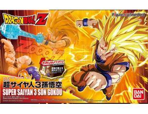 Bandai Model Kit Figura Rise Super Saiyan 3 Son Gokou Model Kit
