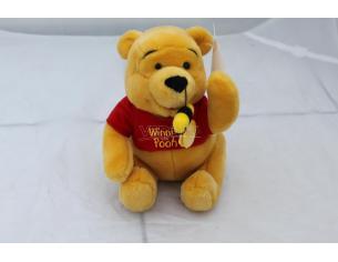 Disney Winnie The Pooh - Peluche Winnie The Pooh seduto con ape