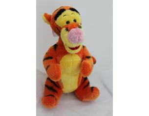 Disney Winnie The Pooh Tigro arancione e giallo seduto Peluche morbido 26cm