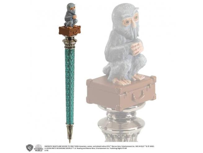 Penna con figura Demiguise in cima Animali Fantastici Noble Collection