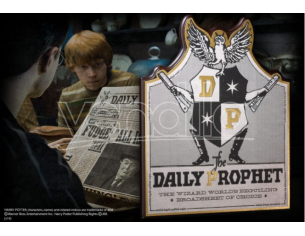 Placca Muro Giornale La Gazzetta del Profeta Harry Potter 21cm Noble Collection