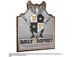 Harry Potter Placca Muro Giornale La Gazzetta Del Profeta 21cm Noble Collection