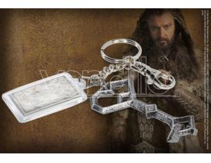 Chiave e Portachiavi Mappa Terra di Mezzo di Thorin Lo Hobbit Noble Collection