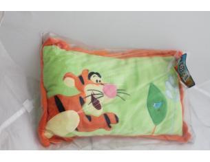DISNEY - Winnie The Pooh Cuscino verde con Tigro 44x27cm CONFEZIONE ROVINATA