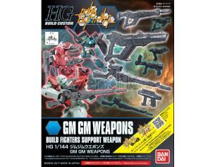 BANDAI MODEL KIT HG GMGM WEAPONS 1/144 MODEL KIT