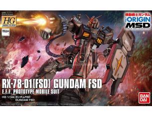 BANDAI MODEL KIT HG GUNDAM FSD 1/144 MODEL KIT