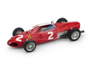 Brumm BM0639 FERRARI 156 F1 P.HILL 1961 N.2 WINNER ITALY GP 1:43 Modellino