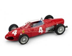 Brumm BM0640 FERRARI 156 F1 W.V.TRIPS 1961 N.4 DNF ITALY GP 1:43 Modellino