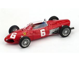 Brumm BM0641 FERRARI 156 F1 R.GINTHER 1961 N.6 DNF ITALY GP 1:43 Modellino