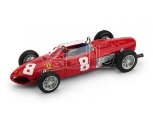 Brumm BM0642 FERRARI 156 F1 R.RODRIGUEZ 1961 N.8 DNF ITALY GP 1:43 Modellino
