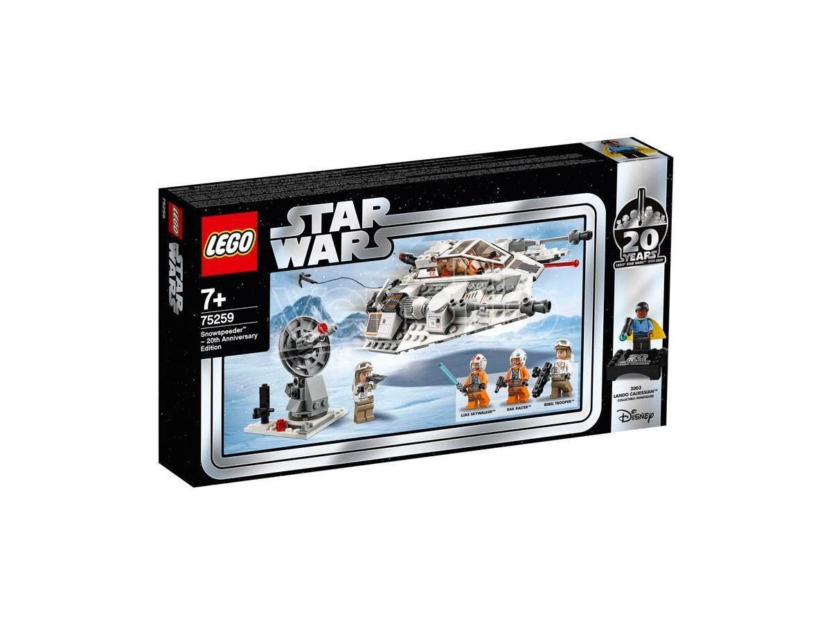 LEGO STAR WARS 75259 - SNOWSPEEDER - EDIZIONE 20° ANNIVERSARIO