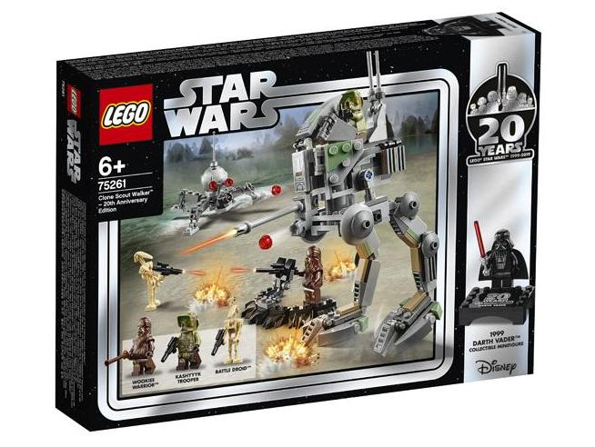 LEGO STAR WARS 75261 - CLONE SCOUT WALKER - EDIZIONE 20° ANNIVERSARIO