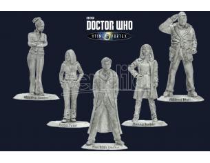 Warlord Games Doctor Who 10th Doctor E Companions Gioco Da Tavolo