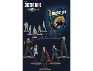 WARLORD GAMES DOCTOR WHO 12TH DOCTOR AND COMPANIONS GIOCO DA TAVOLO