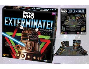 WARLORD GAMES DOCTOR WHO EXTERMINATE MINIATURE GAME GIOCO DA TAVOLO