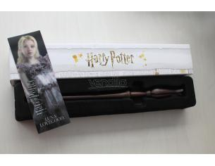 Bacchetta magica Harry Potter - Luna Lovegood con segnalibro 3D Noble Collection
