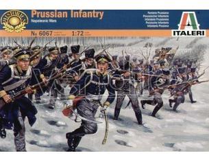 Italeri IT6067 PRUSSIAN INFANTRY NAPOLEONIC WARS KIT 1:72 Modellino