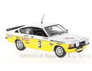 Ixo model RAC263 OPEL KADETT GT/E N.3 RALLY HUNSRUECK 1978  WARMBOLD-PITZ 1:43 Modellino