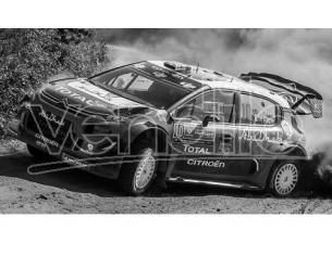 Ixo model RAM675 CITROEN C3 WRC N.10 DNF RALLY PORTUGAL 2018 MEEKE-NAGLE 1:43 Modellino
