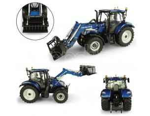 Universal Hobbies UH5320 NEW HOLLAND T6.175+ 770TL FRONT LOADER (CARICAT.FRONTALE A MAGLIE) 1:32 Modellino