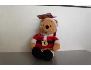 Disney Winnie The Pooh - Peluche Winnie The Pooh vestito da Babbo Natale 20cm