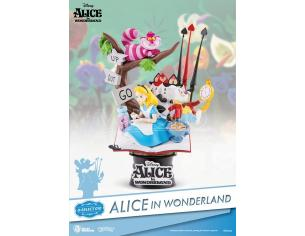 BEAST KINGDOM D-SELECT ALICE IN WONDERLAND DIORAMA STATUA