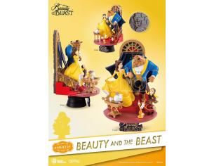 BEAST KINGDOM D-SELECT BEAUTY AND THE BEAST DIORAMA STATUA