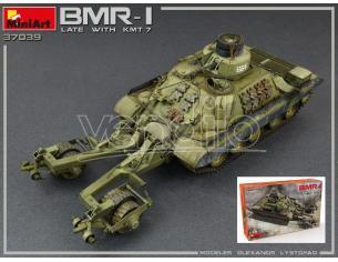 Miniart MIN37039 BMR-1 LATE MOD.WITH KMT-7 KIT 1:35 Modellino
