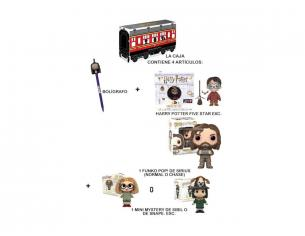 Funko Harry Potter Hogwarts Express Box 3 Personaggi di cui uno a sorpresa