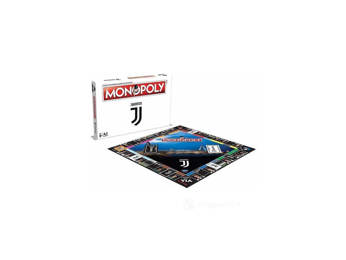 Monopoly Juventus Gioco da Tavolo Versione Italiano Winning Moves