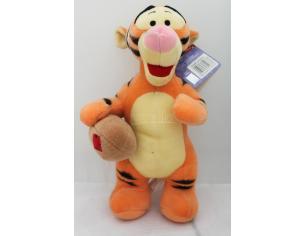 Disney Winnie The Pooh - Tigro Peluche Giocatore di Rugby 30cm