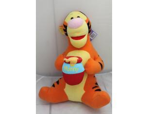 Disney Winnie The Pooh - Tigro Peluche con vasetto di miele 60cm