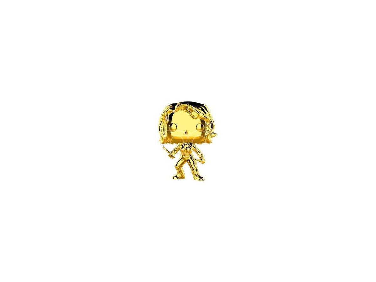 Funko Studios 10 POP Marvel Vinile Figura Black Widow Cromata 9 cm