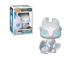 Funko Dragon Trainer POP Movies Vinile Figura Light Fury 9 cm
