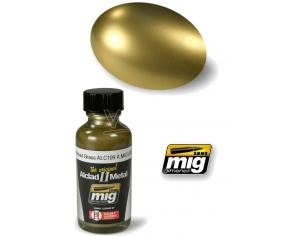 Ammo By Mig Jimenez Alclad Ii Metallo Polished Brass 8206 Colori