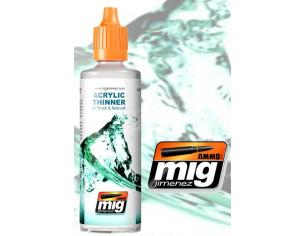 AMMO BY MIG JIMENEZ ACRYLIC THINNER 60ML 2000 COLORI