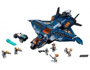 LEGO MARVEL SUPER HEROES 76126 - AVENGERS: L'ULTIMATE QUINJET DEGLI AVENGERS
