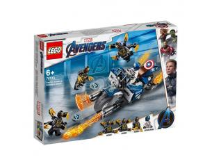 LEGO MARVEL SUPER HEROES 76123- AVENGERS: CAPITAN AMERICA ATTACCO DEGLI OUTRIDER