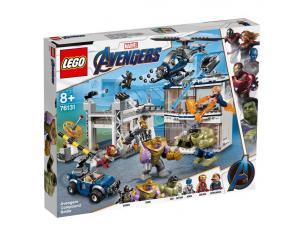 LEGO MARVEL SUPER HEROES 76131 - AVENGERS: BATTAGLIA NEL QUARTIER GENERALE