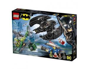 LEGO DC COMICS SUPER HEROES 76120 BAT-AEREO DI BATMAN E LA RAPINA DELL'ENIGMISTA