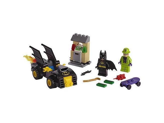 LEGO DC COMICS SUPER HEROES 76137 - BATMAN E LA RAPINA DELL'ENIGMISTA