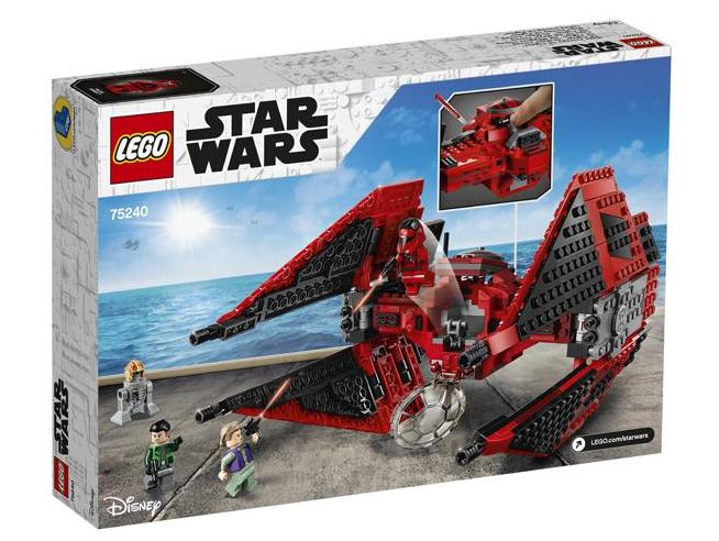 LEGO STAR WARS 75240 - TIE FIGHTER DEL MAGGIORE VONREG